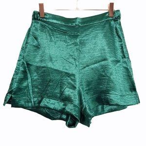 Victoria's Secret High Rise Silky/Satin Shorts SM